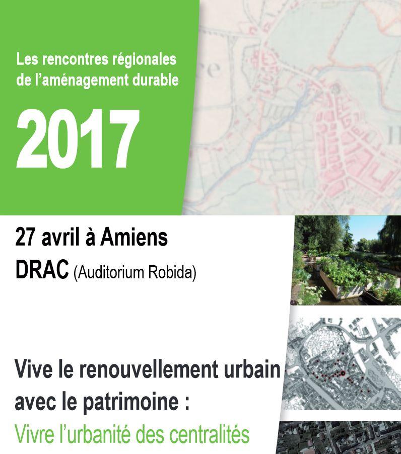 Rencontres nationales de l'aménagement durable 2017 CEREMA